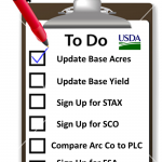 Farm Bill To Do List