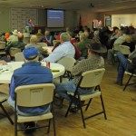 A record crowd came to the Agriculture Conference Center in Jackson County was packed for the 2015 Beef Conference.