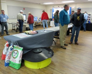 20 trade show exhibitors also took part to share the products and services their companies provide to the beef industry in the Panhandle. Photo credit: Doug Mayo