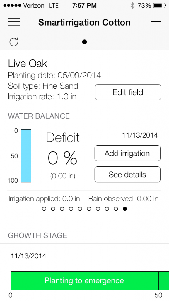 Smart Irrigation App