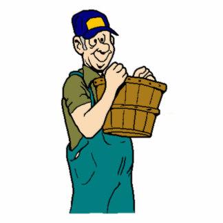 Farmer and Basket