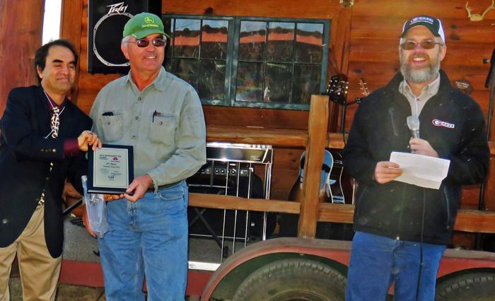 Steve Basford 2015 Perennial peanut hay 2nd place