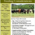 Winter Feed Program Flyer