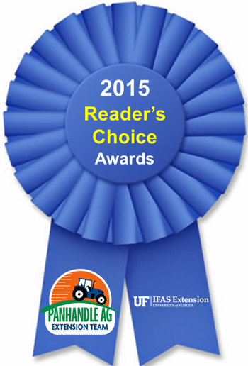 15 Reader's Choice Award