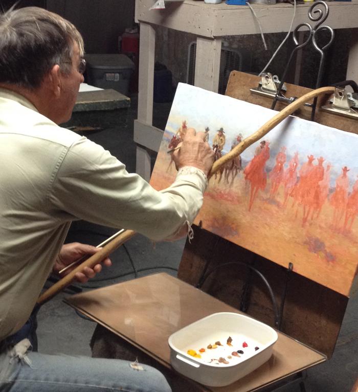 Cowboy painter