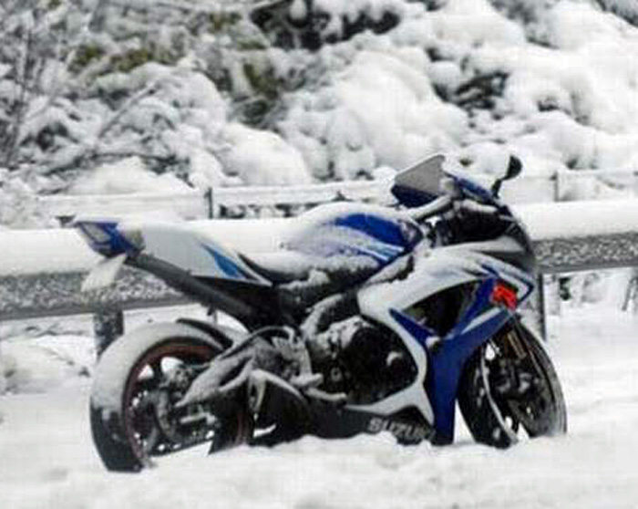 Blizzard Motorcycle