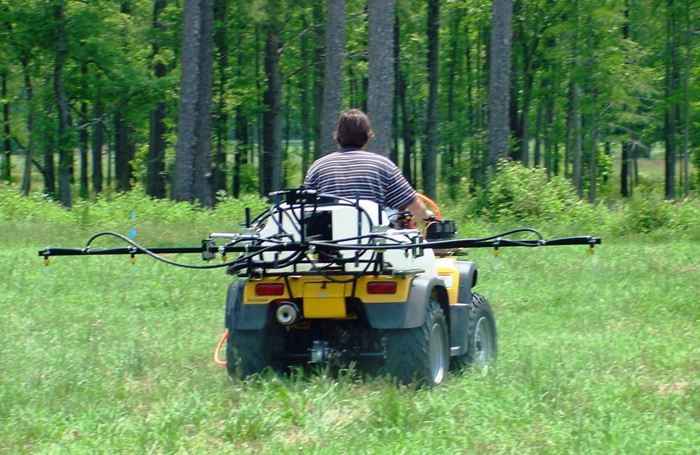 4 wheeler sprayer