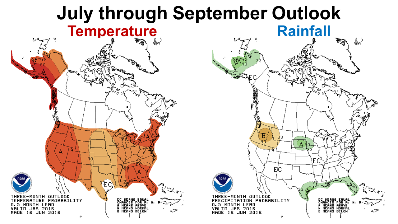 16 July through September Outlook
