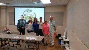 Members of the Red Hills Small Farm Alliance presented during a Protected Agriculture session at the Panhandle Fruit & Vegetable Conference. Photo Credit: Libbie Johnson, UF/IFAS Extension.