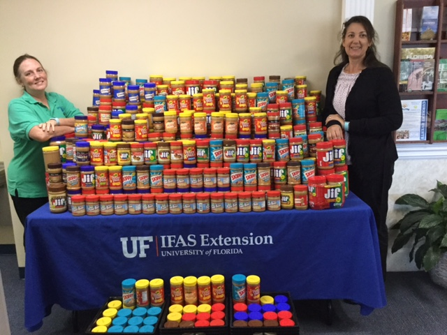 Help Feed the Hungry – The UF/IFAS Extension Peanut Butter Challenge is Underway!