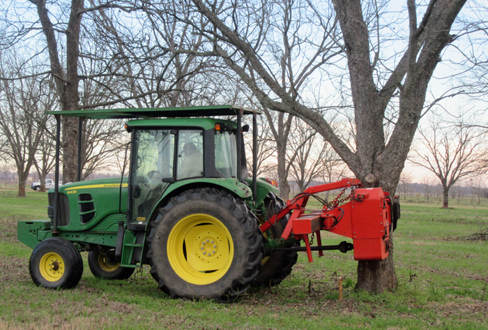 Pecan Harvest Equipment Demonstration Video