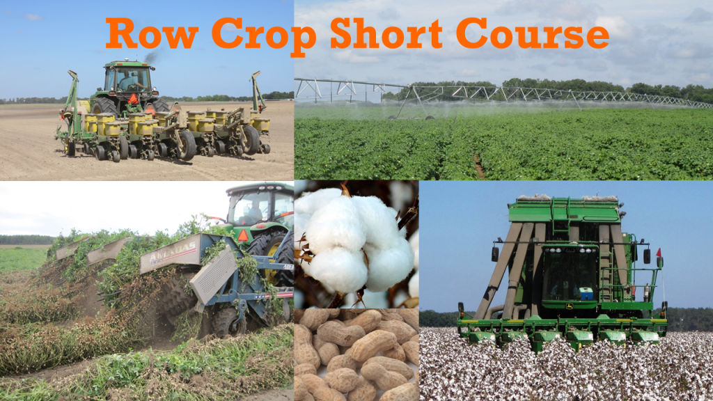 2017 Panhandle Row Crop Short Course – March 2nd …….