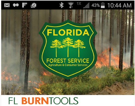 Florida Fire Map 2017.Florida Forest Service Releases Fire Information App Panhandle