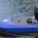 Friday Feature: Remote Control Boat for Pond Herbicide Application