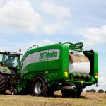 Friday Feature:  Baler-Wrapper Combo for Baleage
