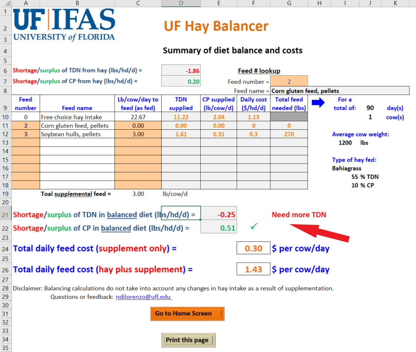 Introducing the New UF Hay Balancer Decision-Aid for Cattle