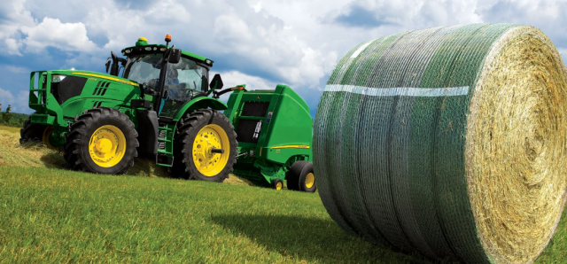 Friday Feature:  B-Wrap Weather Protection for Hay Bales
