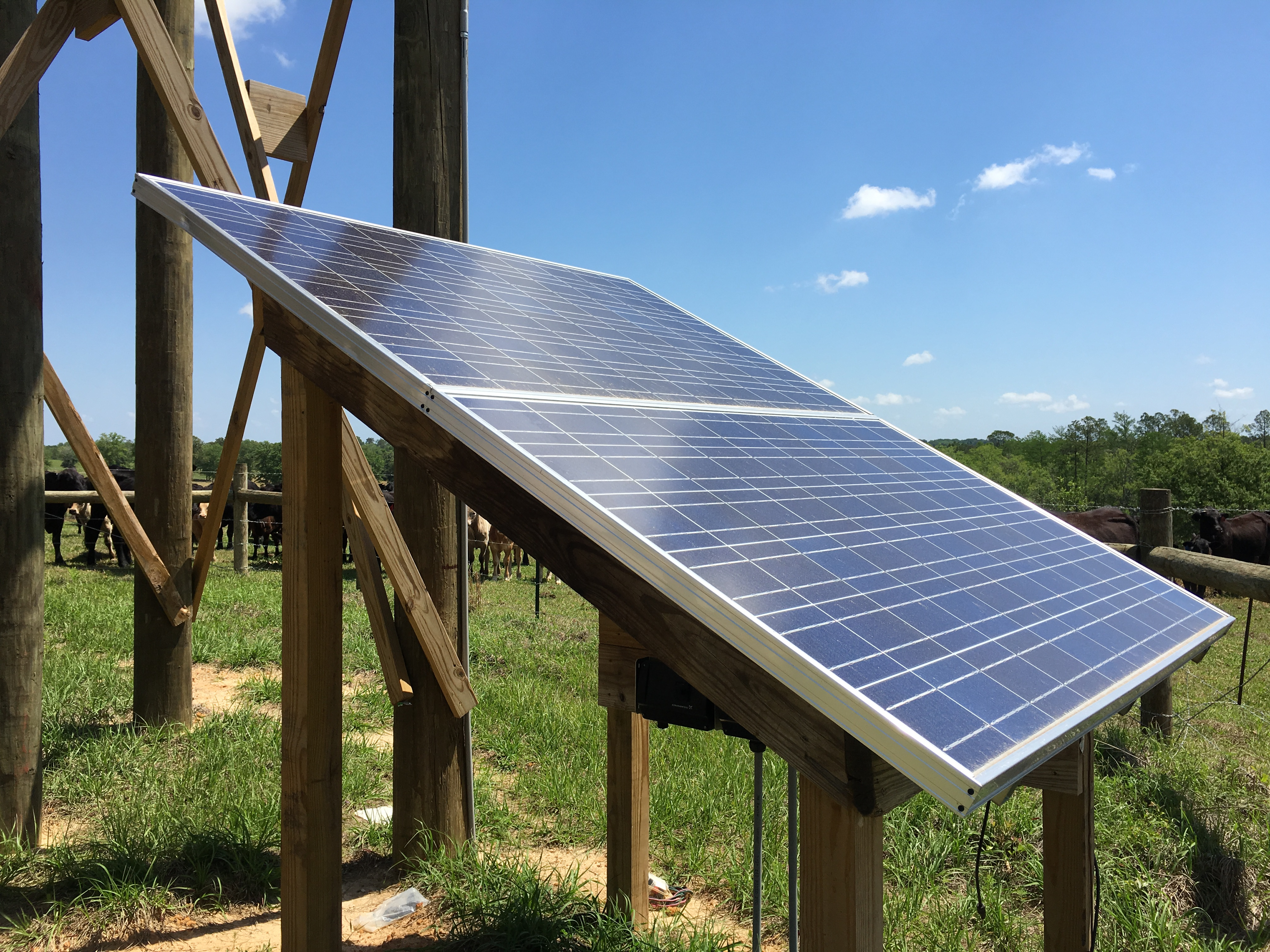 Using Solar Energy to Pump Water for Livestock