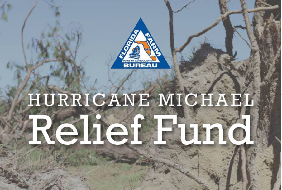 Farmers Can Apply for Financial Assistance through Farm Bureau's Hurricane Michael Relief Fund through February 15