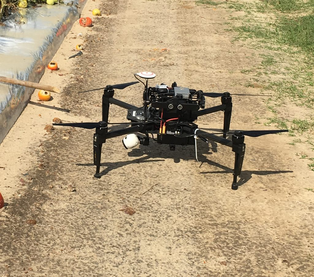 Ag Drone in a field