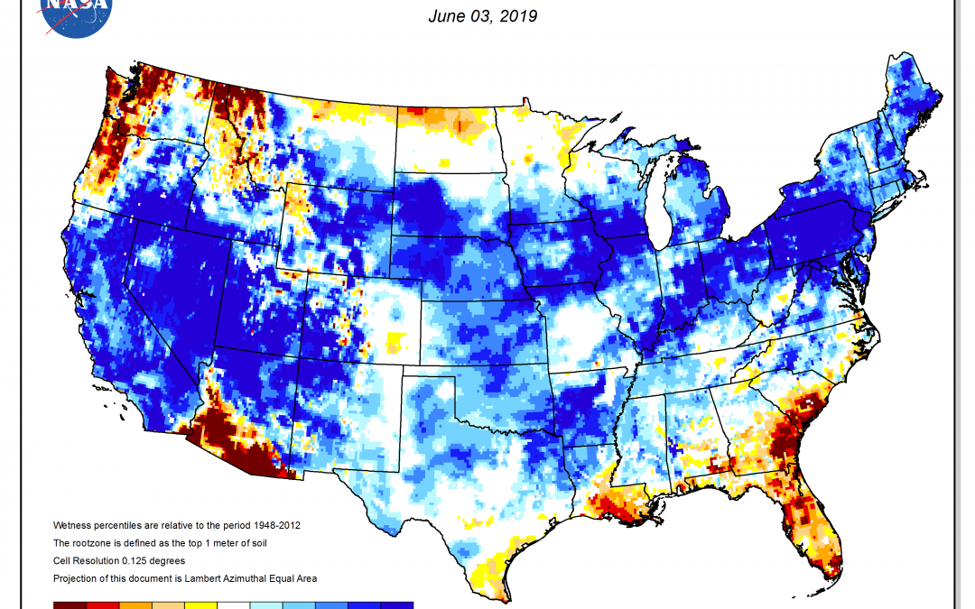 May Weather Summary and June Outlook
