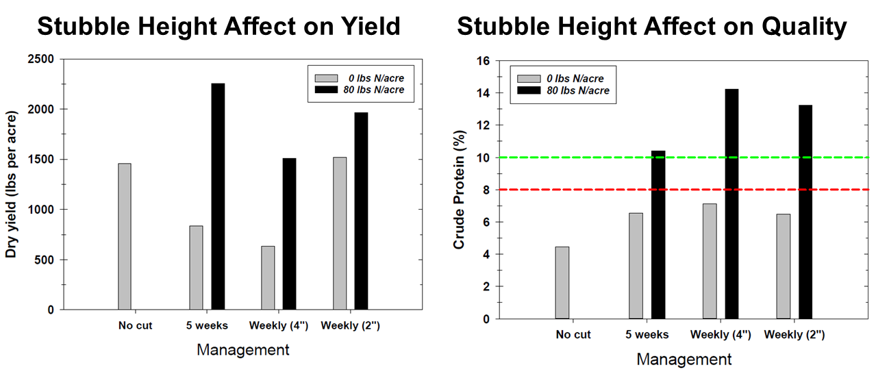 Stubble Height Affect on Quality & Yield