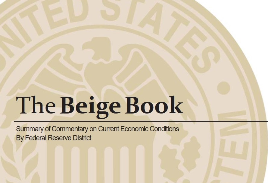 The Federal Reserve's Beige Book Outlook for the Near Future