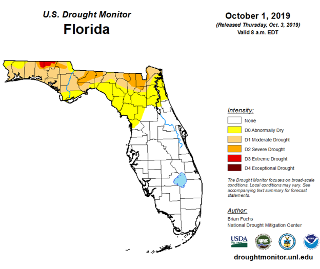August & September Weather Summary and October Outlook