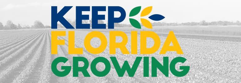 Keep Florida Growing graphic