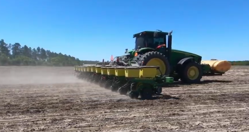Friday Feature:  Planting Cotton with Jim McArthur