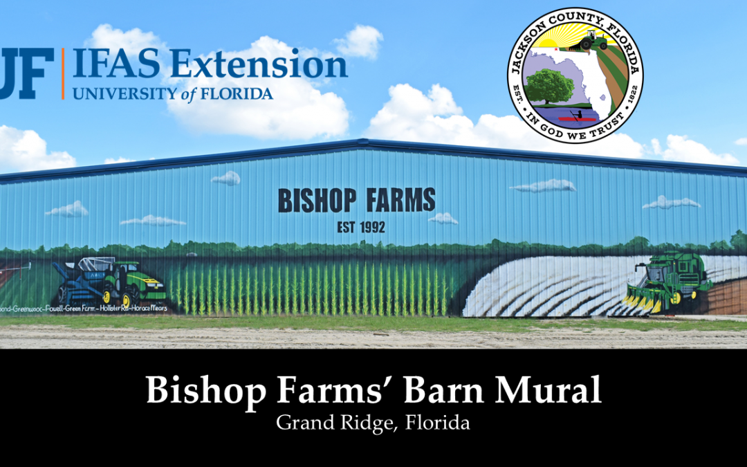 Friday Double Feature:  Bishop Farms' Headquarters Barn Mural