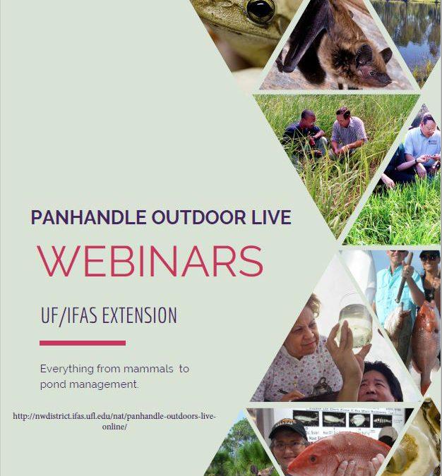 Natural Resource Management Webinar Series – 1st & 3rd Wednesdays