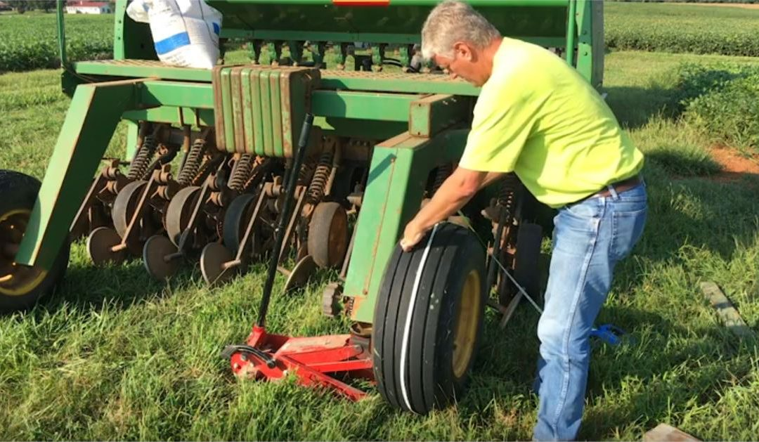 Friday Feature:  Calibrating Your Grain Drill