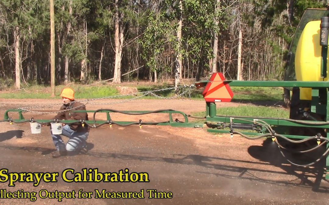 Sprayer Calibration Tables – Calibration Made Easy