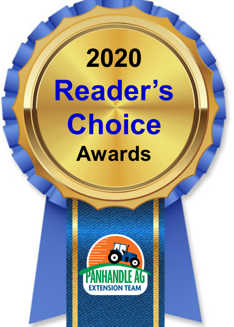 2020 Panhandle Ag e-News Reader's Choice Awards