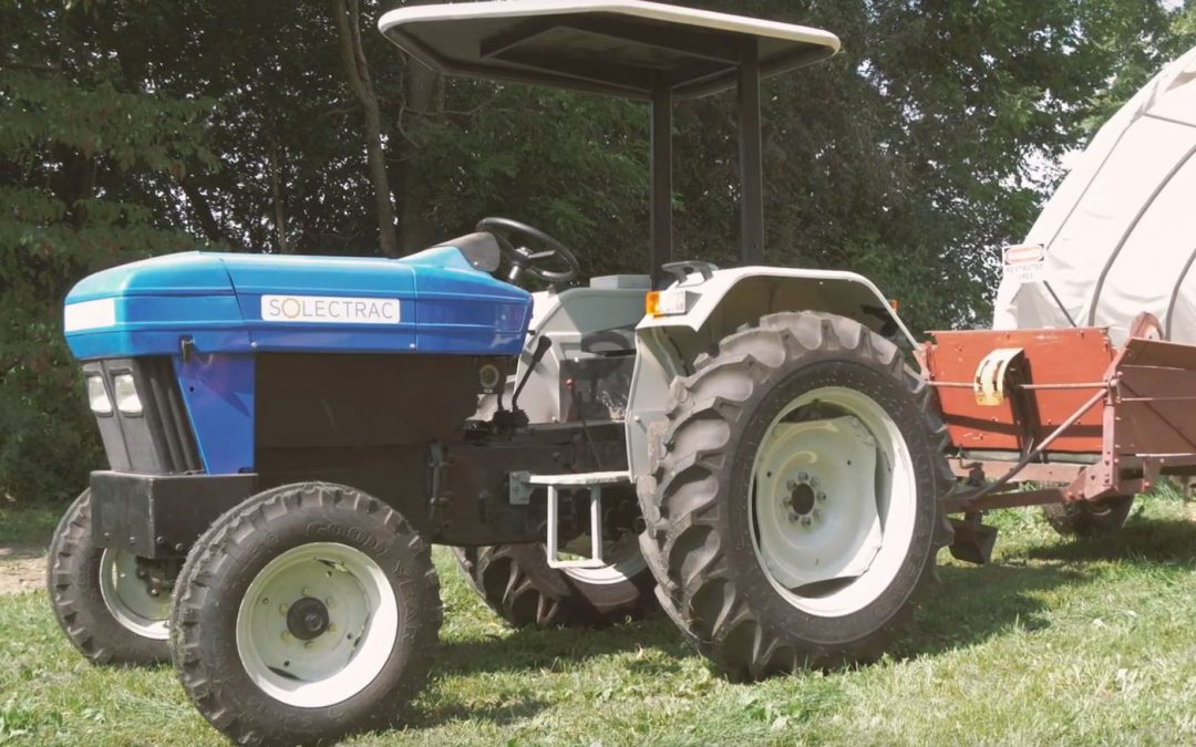 Friday Feature:  All Electric Utility Tractors