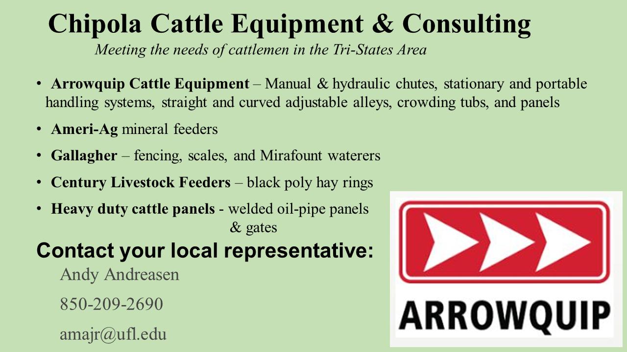 Chipola Cattle Equipment