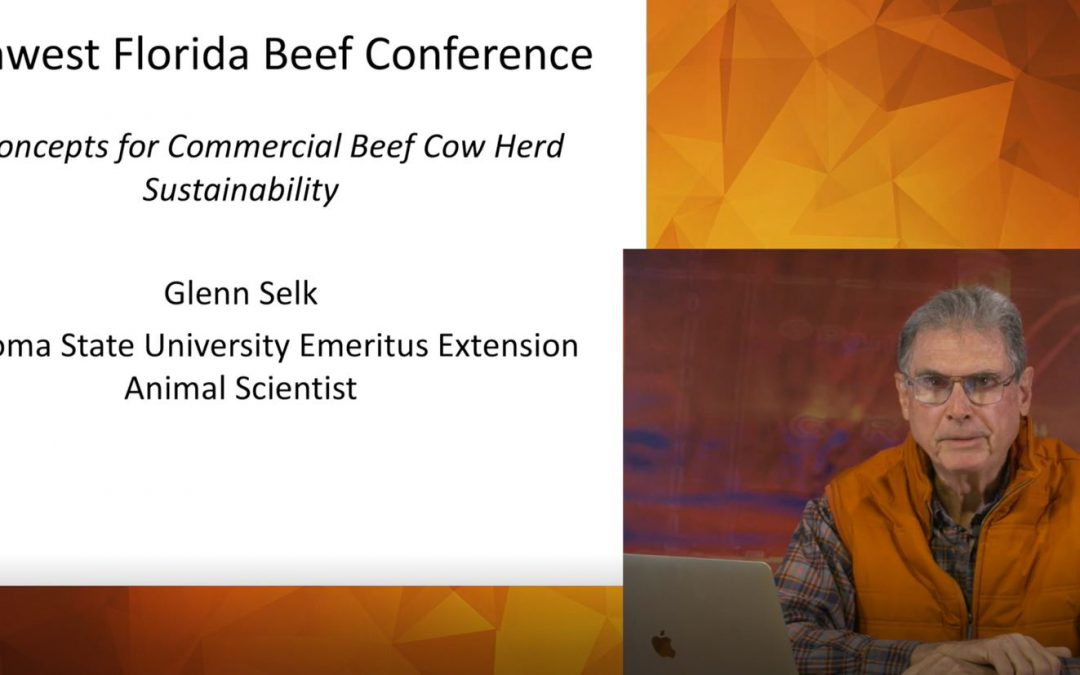2021 Virtual Beef Cattle Conference Presentation Videos