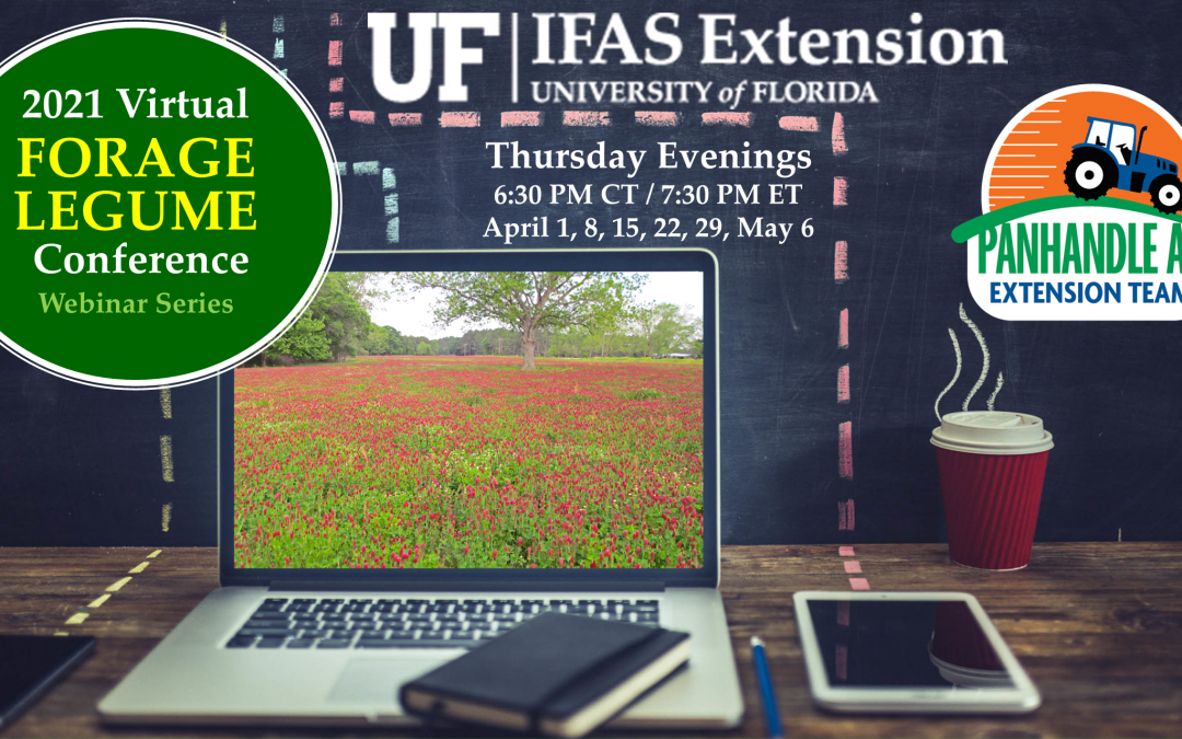 2021 Forage Legume Webinar Series – Thursdays April 1 through May 6