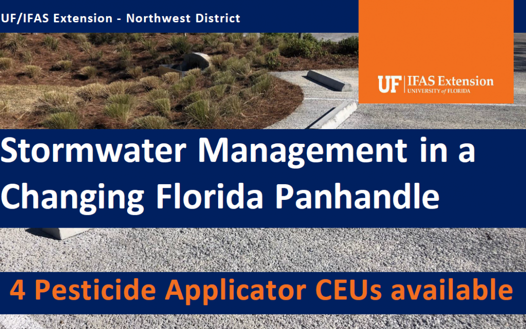 Stormwater Management Webinars: Pesticide Applicator CEUs Available – May 12 & 19