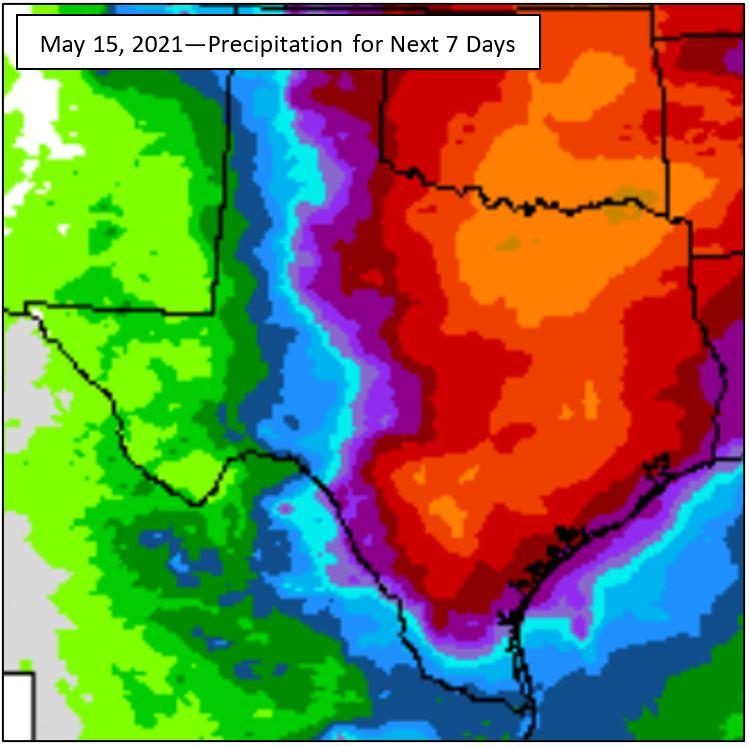 Texas Rain 5-15-21