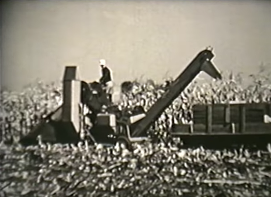 Friday Feature:  1960s Documentary on American Corn Belt Farmers