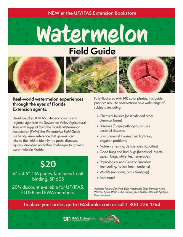Watermelon field guide promotional