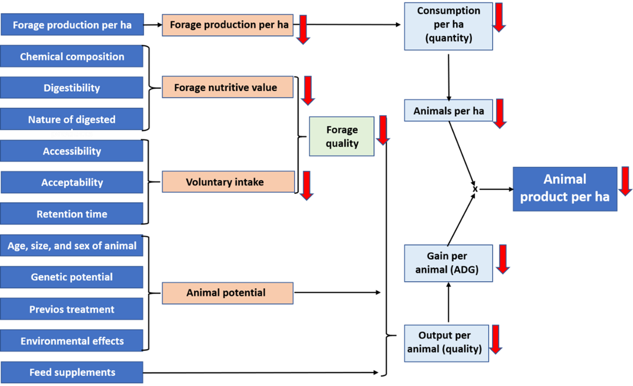 Fig 4 Components of animal production