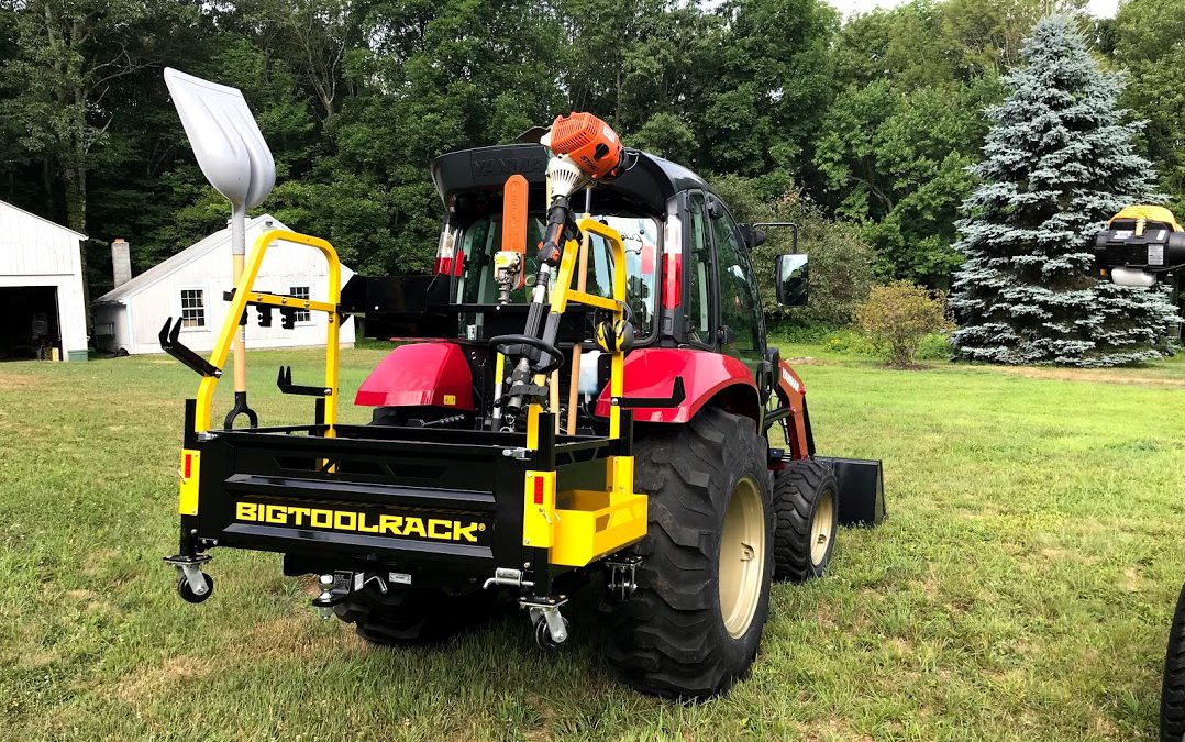 Friday Feature:  Big Tool Rack for Your Tractor