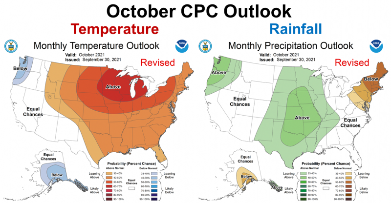 October 2021 CPC Outlook