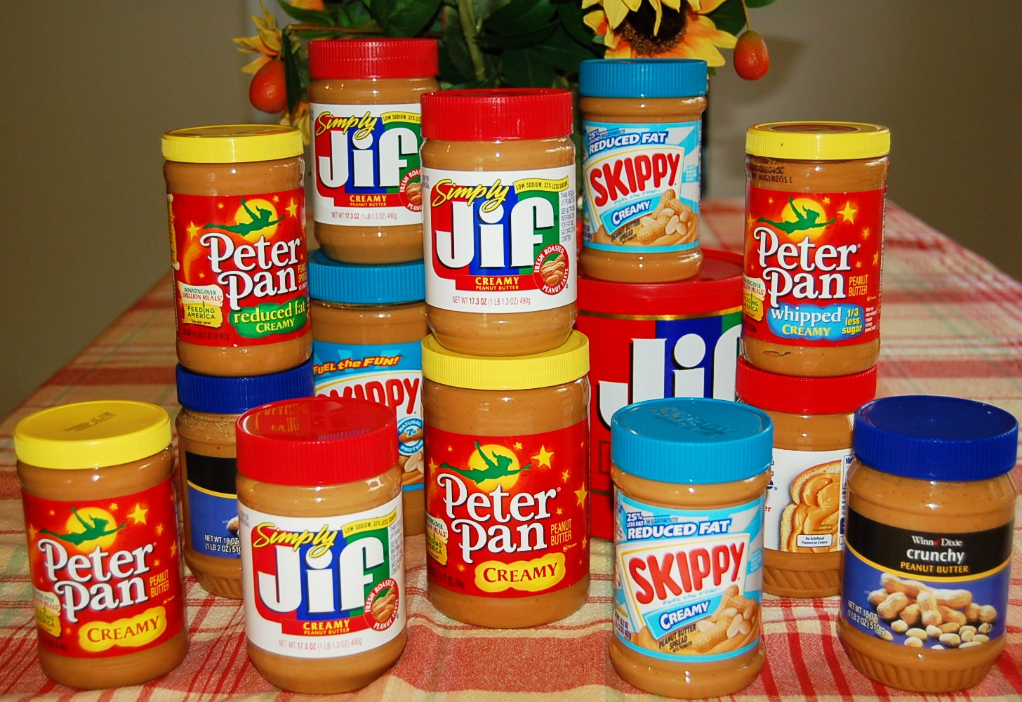 Take the Peanut Butter Challenge!  Donate jars of unopened peanut butter to local food pantries through your County Extension Office.