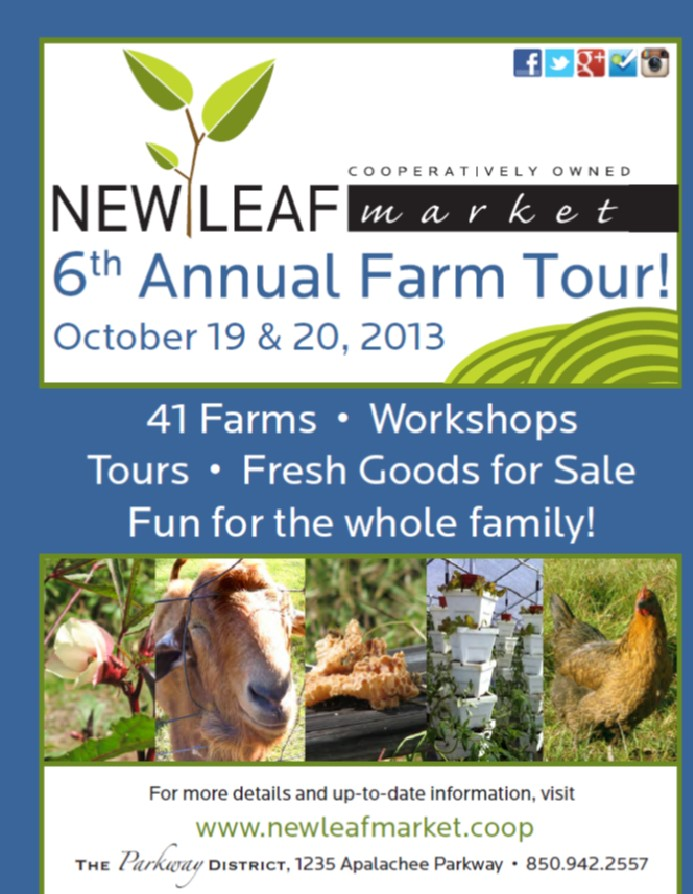 New Leaf Market 6th Annual Farm Tour