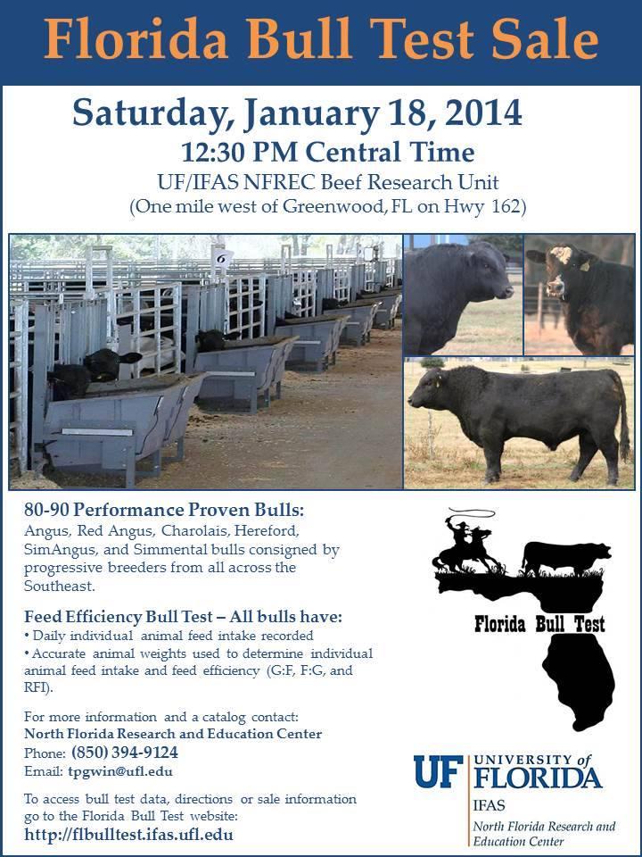 2014 FL Bull Test Sale Ad